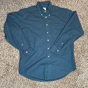 Men's Brooks Brothers Long Sleeve Button Up Shirt